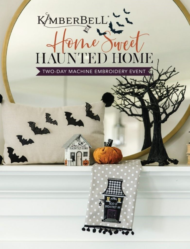 Home Sweet Haunted Home embroidery